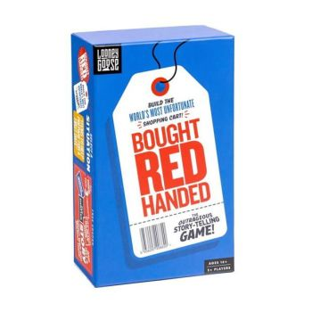 Professor Puzzle Bought Red Handed Game