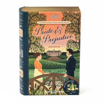 Professor Puzzle Jigsaw Library - Pride and Prejudice