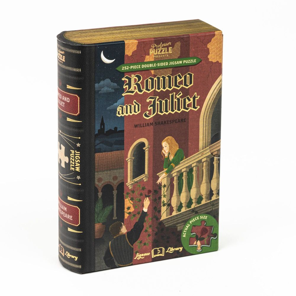 Professor Puzzle Jigsaw Library - Romeo and Juliet
