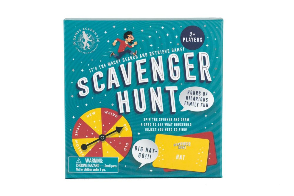 Professor Puzzle Scavenger Hunt Family Game