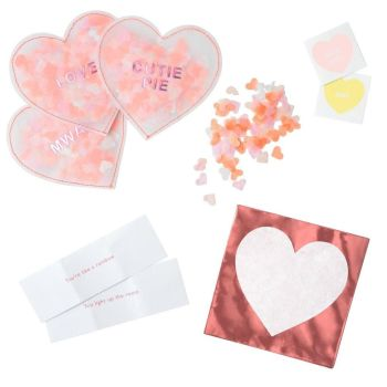 Meri Meri Love Heart Shaker Love Notes