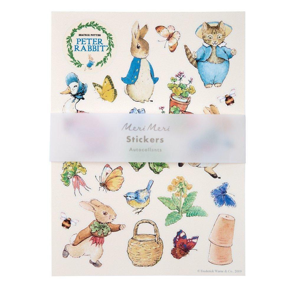 Meri Meri Peter Rabbit Sticker Sheets - Pack of 10