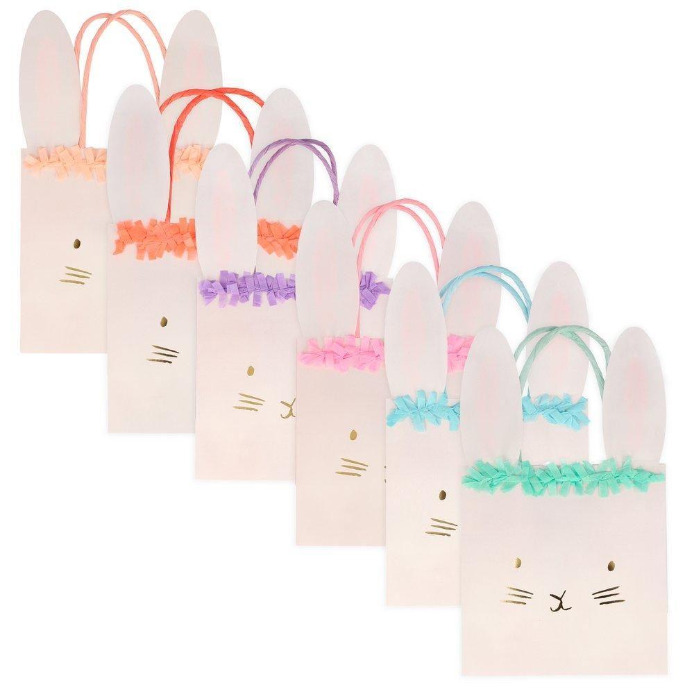 Meri Meri Spring Bunny Party Bags - Pack of 6