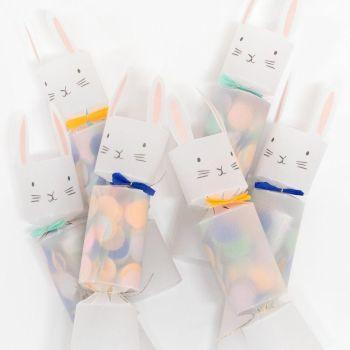 Meri Meri Easter Bunny Mini Crackers - Pack of 6