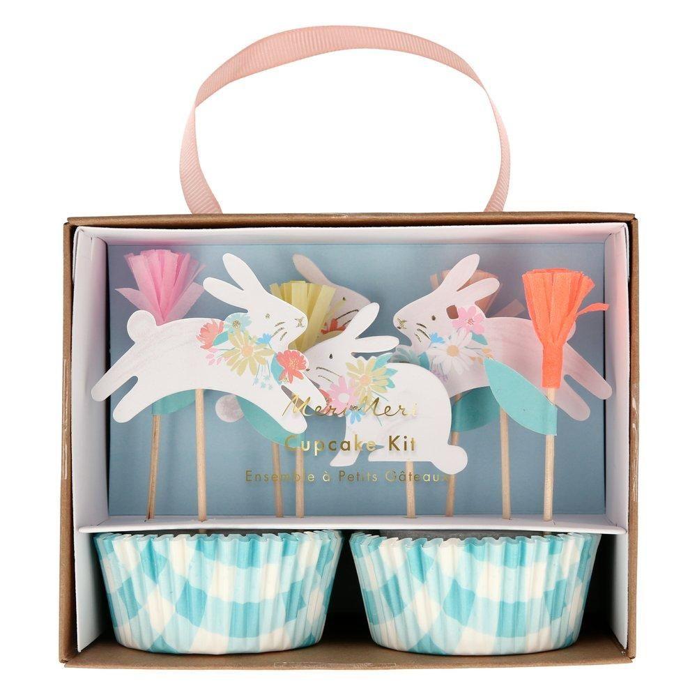 Meri Meri Spring Bunny Cupcake Kit