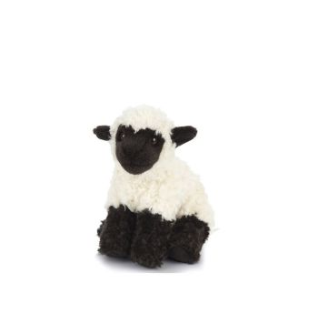Living Nature Fluffy Lamb - Small Black Face