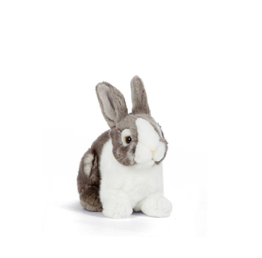 Living Nature Soft Toy Rabbit - Grey
