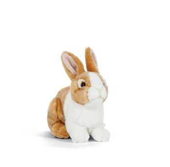 Living Nature Soft Toy Rabbit - Brown