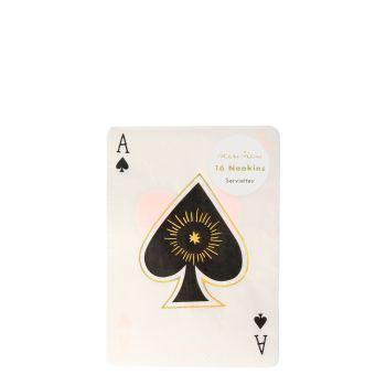 Meri Meri Magic Ace Napkins - Pack of 16