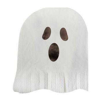 Ginger Ray Ghost Fringe Paper Napkins