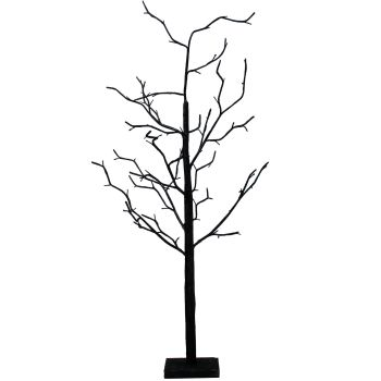 Gisela Graham Black Glitter Twig Tree
