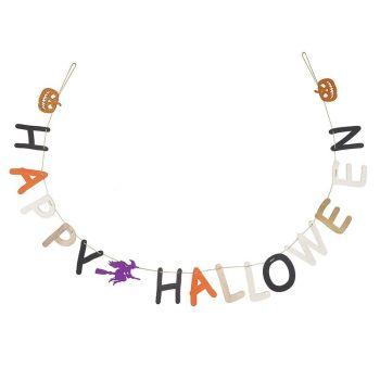 Happy Halloween Garland