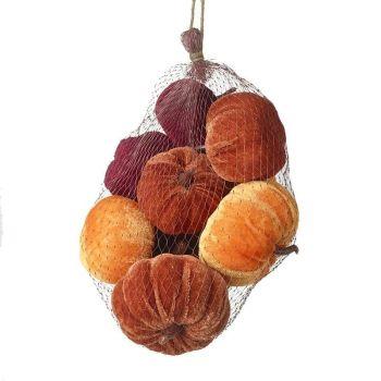Net of Velvet Pumpkins