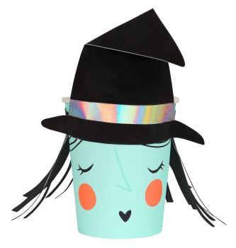 Meri Meri Witch Party Cups - Pack of 8
