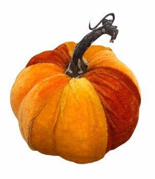 Velvet Patchwork Pumpkin