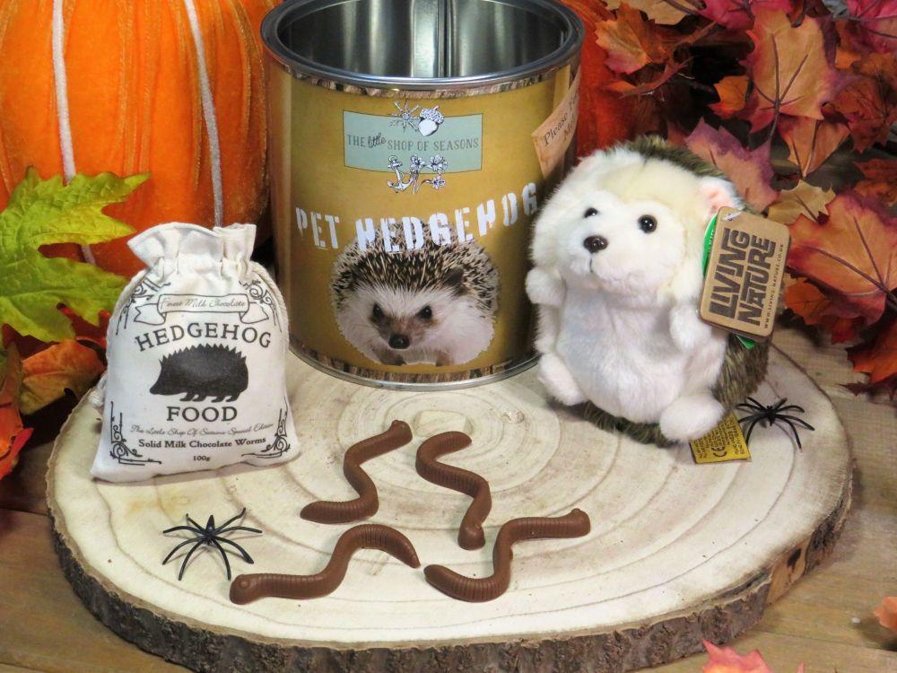 Pet Hedgehog Treat Tin