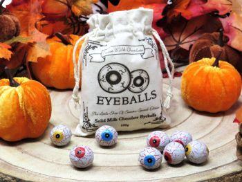 Milk Chocolate Eyeballs