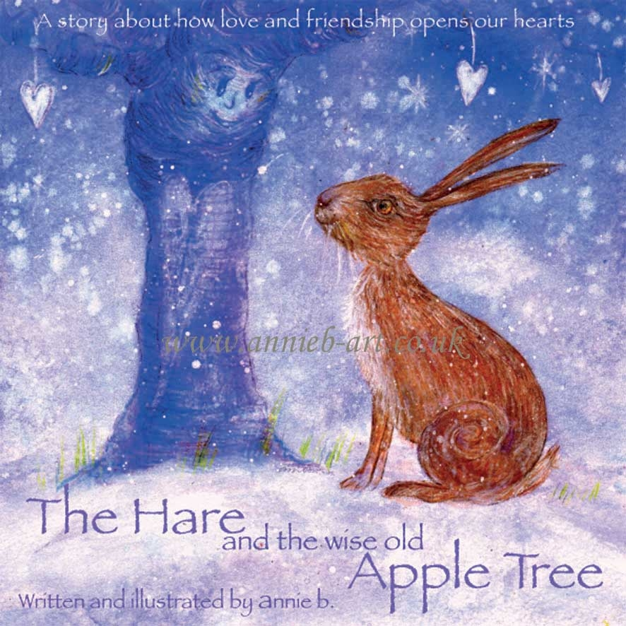 Buy The Hare and the wise old Apple Tree children's book for wellbeing and connecting to nature
