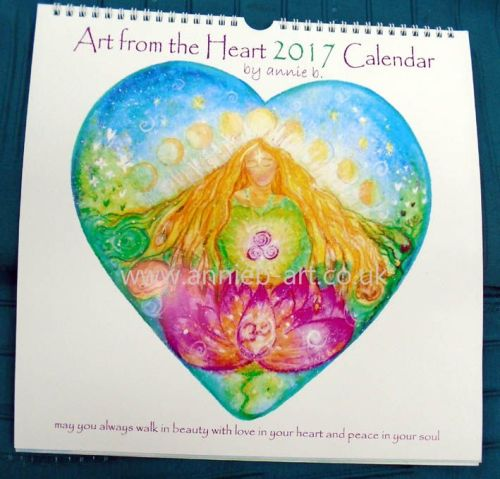 Art from the Heart 2017 Calendar
