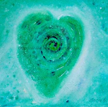 'from the heart III' original painting