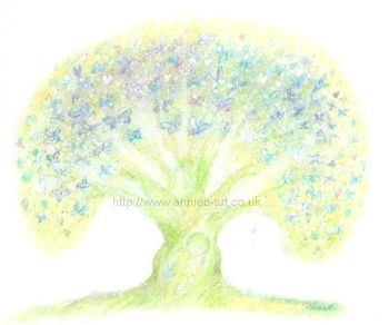 'tree of new life' original painting
