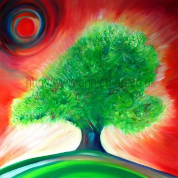 speaking tree original painting