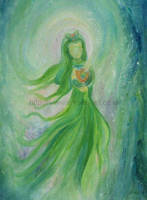 Kuan Yin dancing compassion