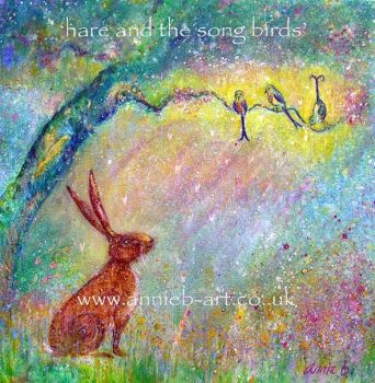 Hare and the song birds