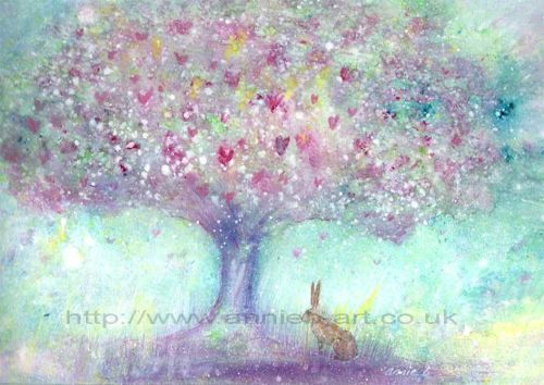 The hare and the magical tree