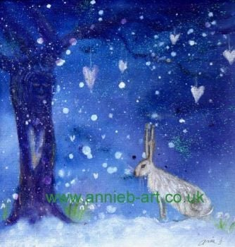 winter hare and the tree of love