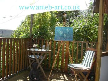 Painting workshop for two people