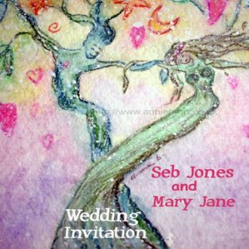 Custom designed Wedding Invitations Eco friendly