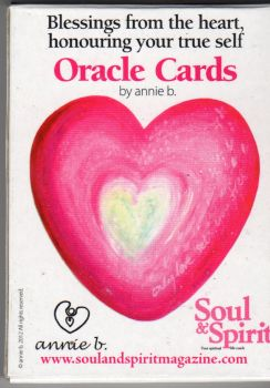 Blessings from the Heart Oracle cards by annie b.
