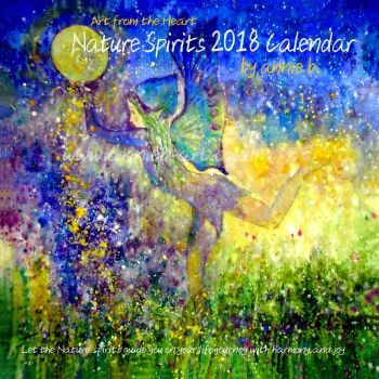 Nature Spirits 2018 Calendar . Can be ordered for January but sold our for Christmas
