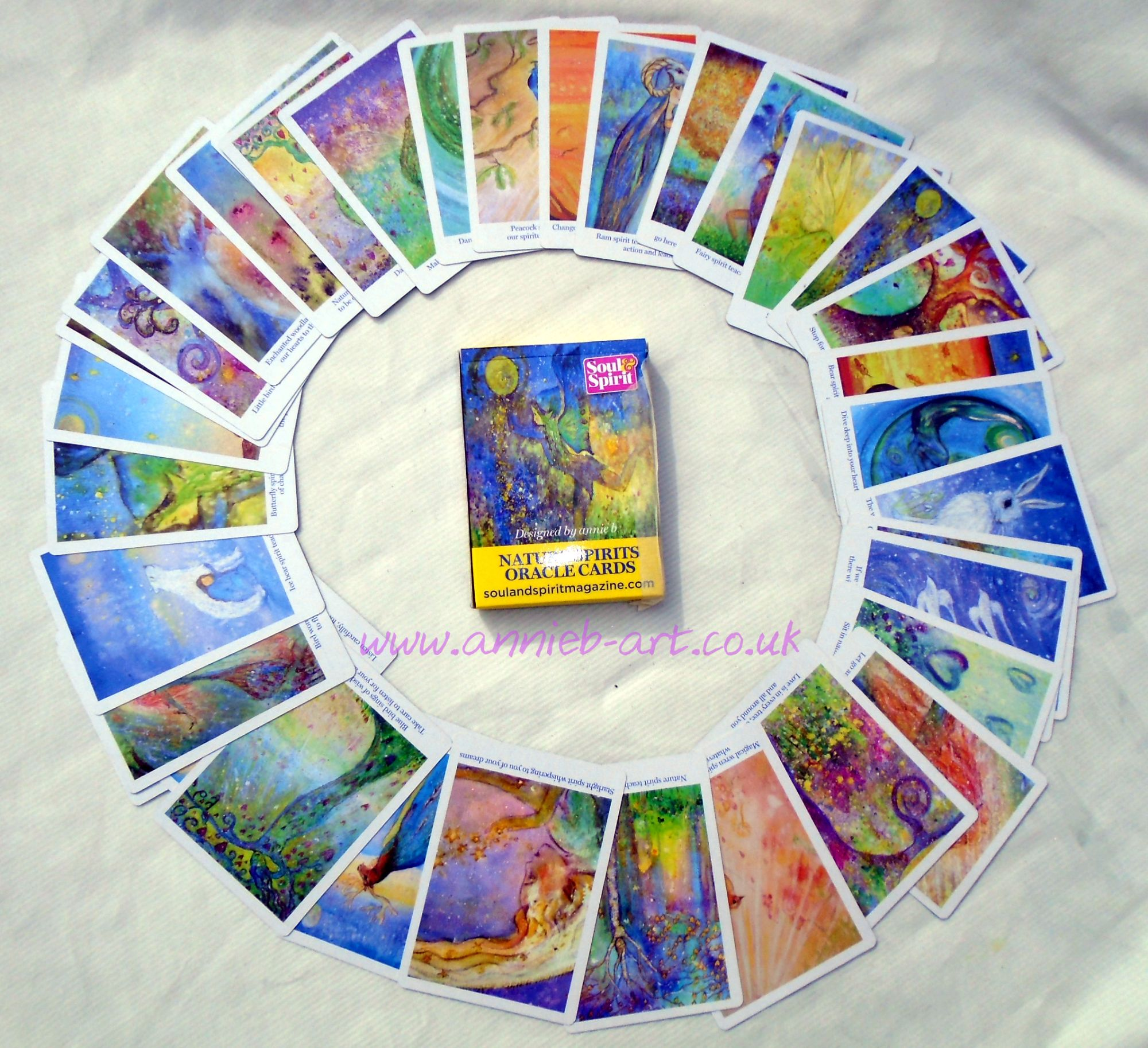 nature spirit cards circle