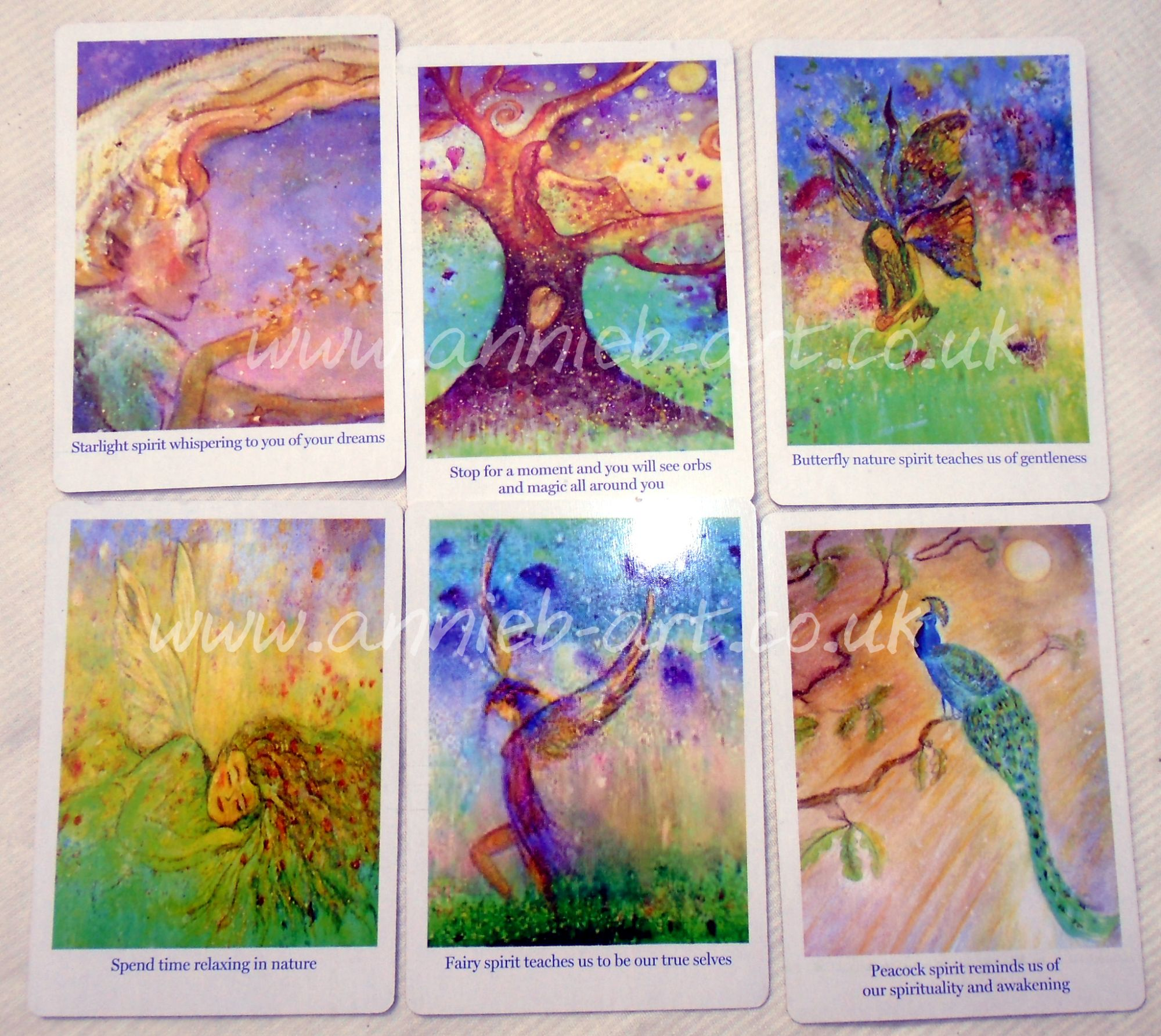 nature spirits 6 cards