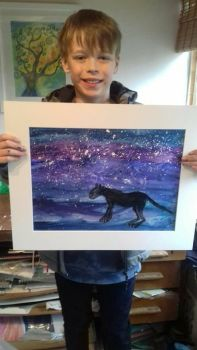 Kids Connect with your Spirit Animal painting workshop