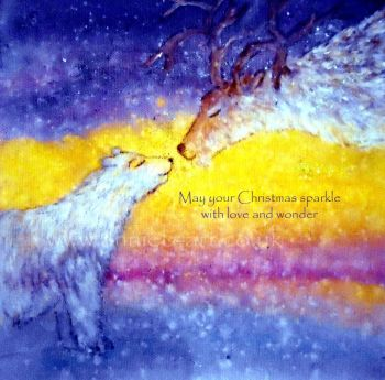May your Christmas sparkle with love and wonder