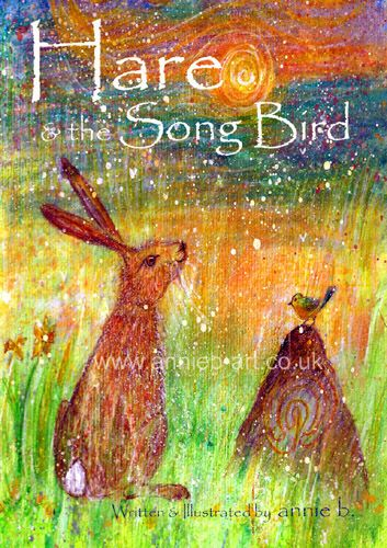 Buy Hare and the Songbird children's book for wellbeing and connecting to nature