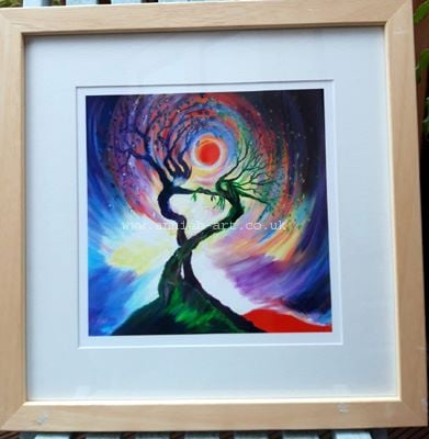 dance tree spirits framed copy