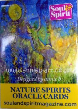 Nature Spirits Oracle card deck by annie b. art in conjunction with Soul & Spirit