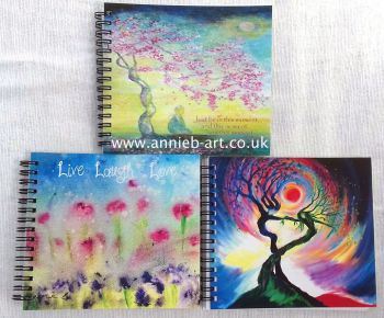 x 3  Art notebook/ journals