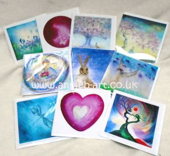 A Mixed pack of x 6 Greetings cards for all occassions. Blank inside