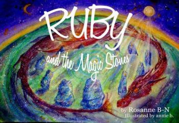 The Ruby and the Magic Stones children's book