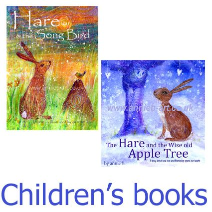 Two book deal. Hare and the Song Bird & Hare and the Wise Old Apple Tree