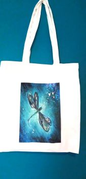 Art Tote bag Sacred Dragonfly
