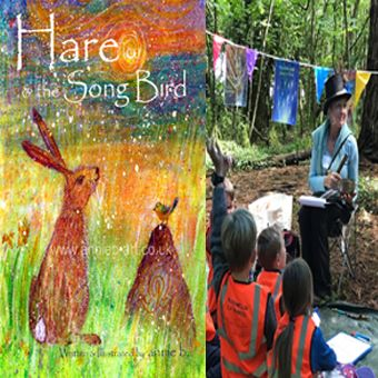 Hare and the Song Bird storytelling creative workshop