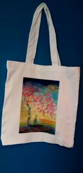 Art Tote bag - Just be in this moment