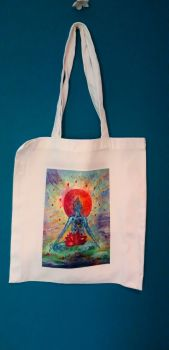 Art Tote bag - Heart meditation