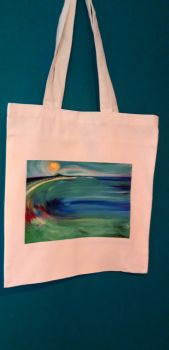 Art Tote bag- St. Ives Mermaid